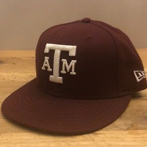 Texas A&M Aggies New Era Fitted Hat 7